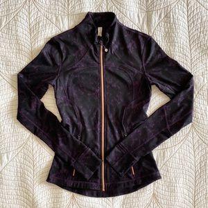 RARE LULULEMON Forme Jacket Baroque Deep Zinfandel